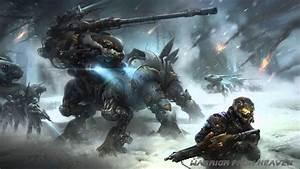 Manfightermusic-, Cyber, Warfare, 2015, Epic, Dark, Hybrid, Futuristic, Sci-fi, Action
