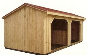 run in sheds for sale amish built wood run in sheds for sale at alan s