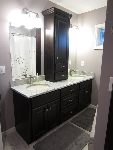 Countertop Bathroom Cabinet by Valley Custom Cabinets Custom Bathroom Cabinets