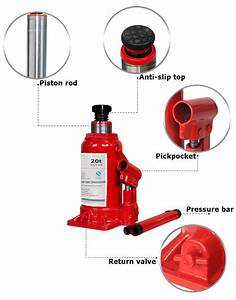 Electric Jack 20 Tons Hydraulic Bottle Jack Small Truck
