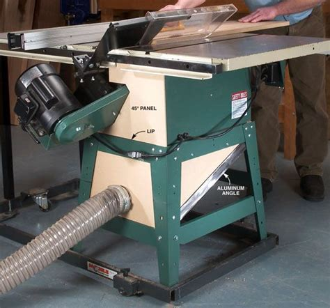 capture tablesaw dust shop dust collection popular
