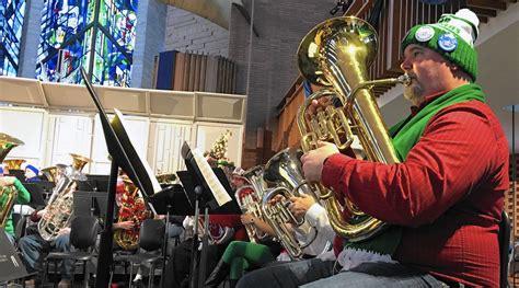 tuba stars  festive christmas event post tribune