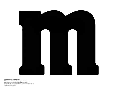 m m template i made up some iron ons for an m m costume just select image in your
