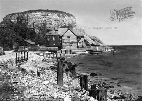 Photo Of Red Wharf Bay, Castle Rock And Sea Garth House C1950
