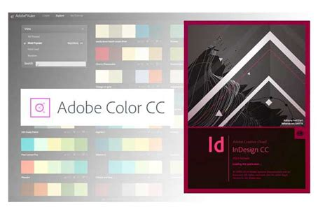 kuler is now color plus the new color theme tool in adobe indesign cc 2014