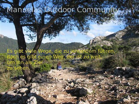 lebensweg spruch outdoor community