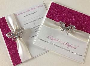 crystal butterfly invitation chosen touches wedding With handmade wedding invitations butterfly theme