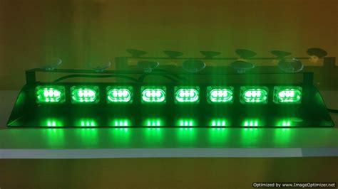 19 quot bright volunteer firefighter green dash light