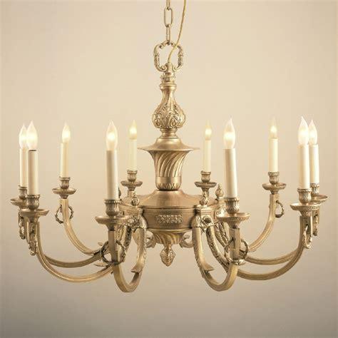 antique brass chandelier jvi designs 570 traditional 32 inch diameter 10 candle