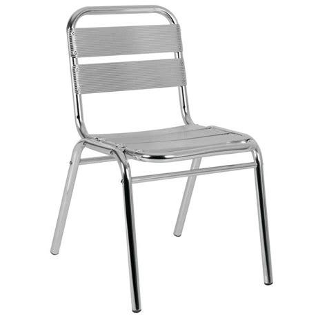 chaise de bar exterieur chaise terrasse aluminium chaise aluminium mobiliers
