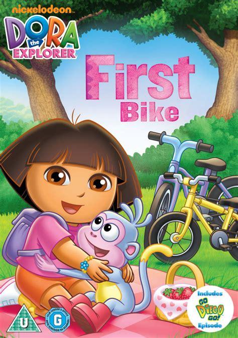 dora  explorer doras  bike dvd zavvi uk