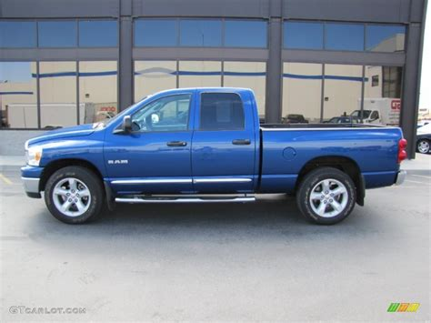 2008 Electric Blue Pearl Dodge Ram 1500 Big Horn Edition