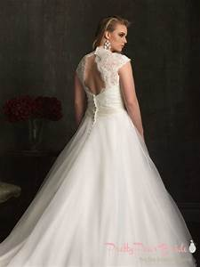 Plus size wedding dress of the week allure bridal for Plus size wedding dresses near me