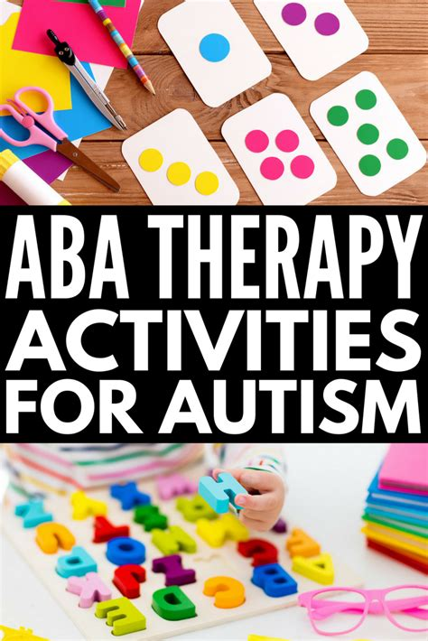 13 aba therapy activities for with autism you can do 121 | aba therapy activities 6