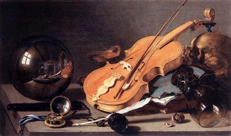 Pieter Claesz Vanité by File Pieter Claesz Vanitas With Violin And Glass