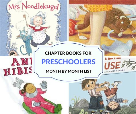 read aloud chapter books for preschoolers month by month 199 | CHAPTER BOOKS FOR PRESCHOOLERS FB