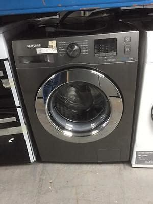 samsung ecobubble wffewx washing machine graphite
