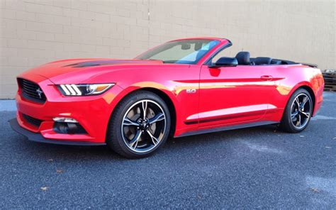 Ford Mustang 2016 Horsepower by 2016 Ford Mustang Gt California Special Convertible