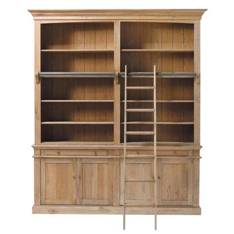 oak book shelf bibliothèque en chêne massif l 200 cm atelier maisons du