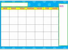 Monday Through Sunday Calendar Online Calendar Templates
