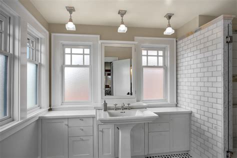 Seattle Bathroom Fixtures by Seattle Pedestal Sinks Bathroom Craftsman With