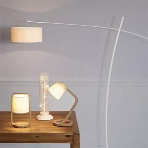 revgercom lampe salon design bois idee inspirante With carrelage adhesif salle de bain avec lampe led lampadaire
