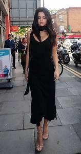 Selena Gomez in Black Dress -10 - GotCeleb