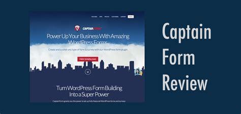 captain form captain form plugin review