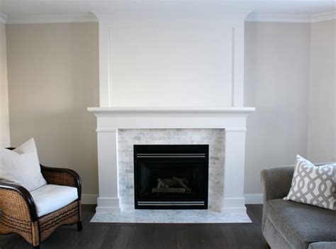 white marble fireplace the makeover details paint