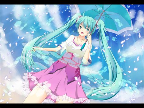 Melt Hatsune Miku Anime And Melt By Miku Hatsune