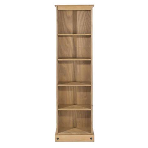 Cheap Narrow Bookcase by Pine And Narrow 4 Shelf Bookcase Cheap Furniture