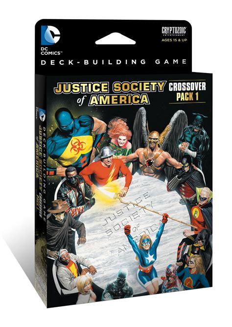 dc deck building expansion 2 dc comics deck building crossover pack 1 jsa