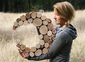 Gartenskulpturen Selber Machen : wanddekoration selber machen puristische skulpturen aus naturholz ~ Frokenaadalensverden.com Haus und Dekorationen