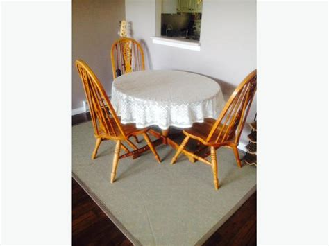 mexican style chairs dining table solid oak esquimalt view royal victoria