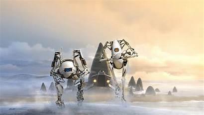 Portal Robot Robots Cloud Atlas Wallpapers 2560