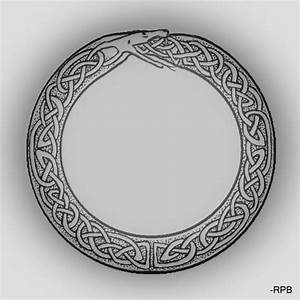 Dessin Symbole Viking : celtic style ouroboros tatouages ~ Nature-et-papiers.com Idées de Décoration