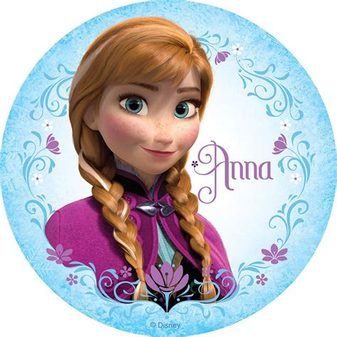 Pictures Of Elsa And Anna Frozen Anna Round