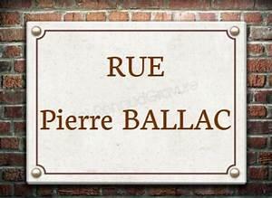 Plaque De Rue Personnalisée Extérieur : plaque de rue en pierre naturelle grav e ~ Dode.kayakingforconservation.com Idées de Décoration