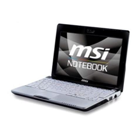 msi u123 netbook windows xp windows 7 drivers applications manuals notebook drivers