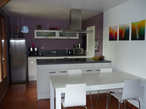 cuisine mur en cuisine couleur de cuisine peinture cuisine couleur idée
