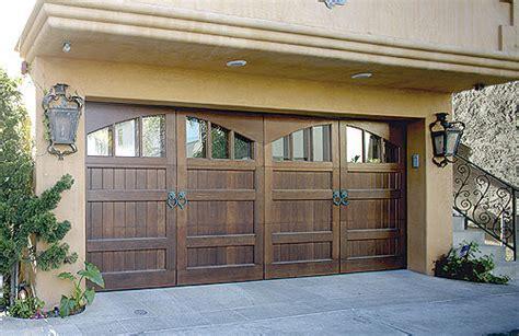 Wood Garage Door by Custom Wood Doors Overhead Door Company Of Houston