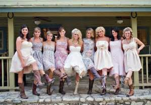 dresses to wear to a country wedding country wedding dresses with cowboy boots 2013 inofashionstyle