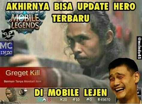 meme mobile legend  bikin anak game rela mantengin