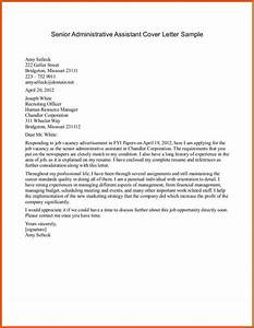best cover letter samples apa examples With cover letters for executive assistant positions