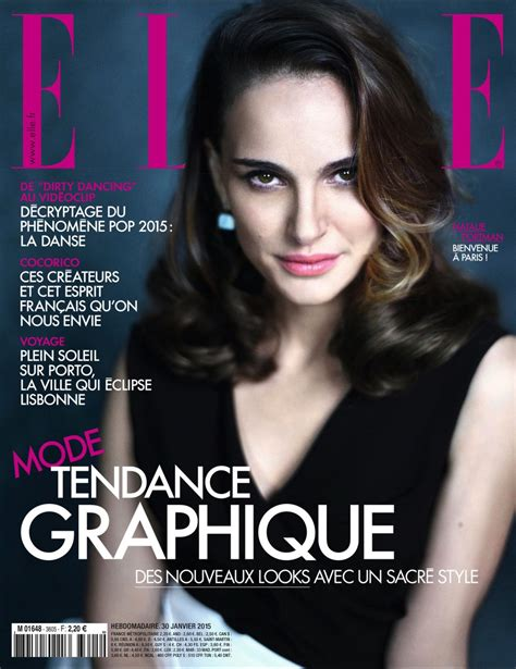 Natalie Portman Elle Magazine France February March