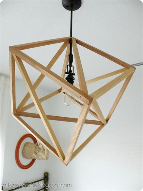 build  cube pendant light