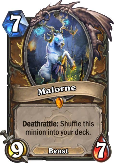 malorne hearthstone card