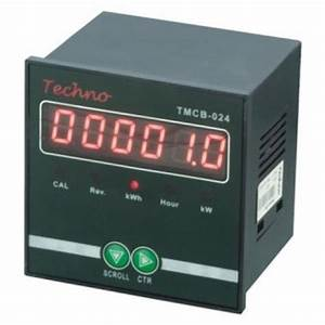 Techno Energy Meter With Rs485  For Industrial And Laboratory  Rs 2000   Piece