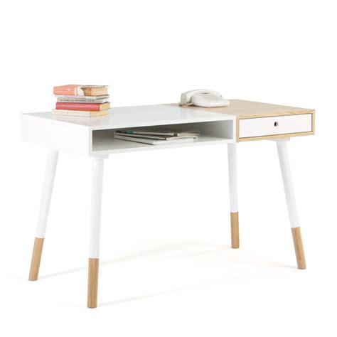 bureau bois massif blanc bureau bois massif blanc maison design wiblia com