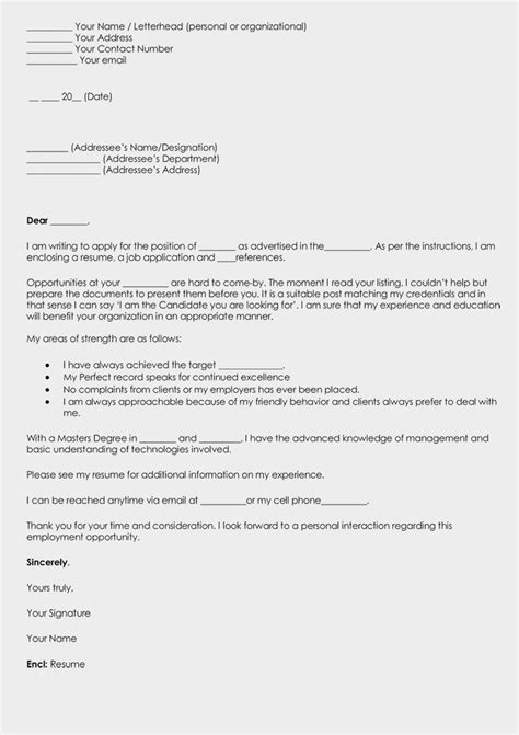 word cover letter template write a cover letter for resume grab attention with 8 25682 | Blank Cover Letter Template Word